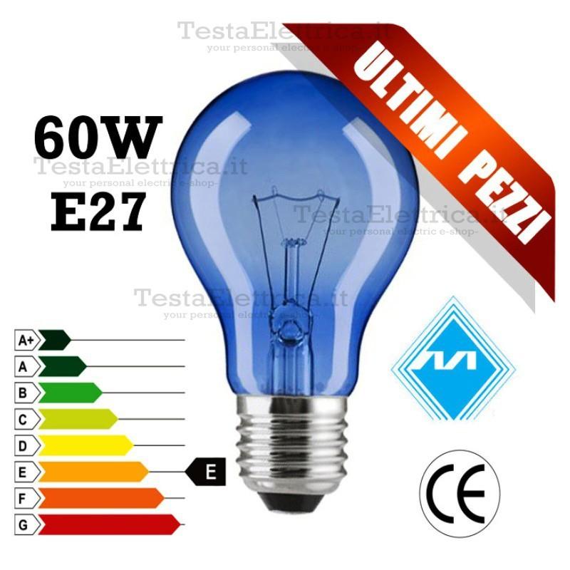lampadina a incandescenza : ... Incandescenza > Lampada solare a incandescenza 60W E27 MarinoCristal