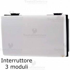 Interruttore 3M compatibile bticino Matix