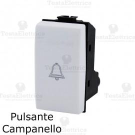 Pulsante campanello compatibile con serie Bticino Matix
