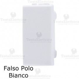 falso polo compatibile con serie LivingLight Bianca