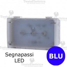 Segnapassi LED BLU  compatibile con serie Bticino Matix