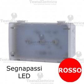 Segnapassi LED ROSSO compatibile con serie Bticino Matix