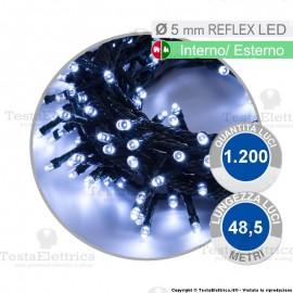 Serie luci di natale da1200 reflex LED