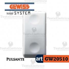 Pulsante bianco  Gewiss System GW20510