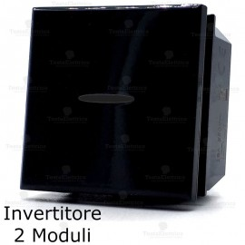 invertitore 2 moduli compatibile bticino axolute