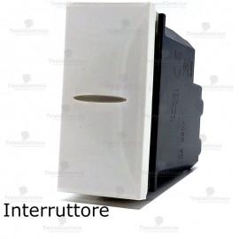 interruttore compatibile bticino axolute bianca