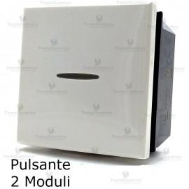 pulsante 2 moduli compatibile bticino axolute