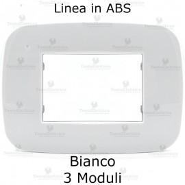 Placchetta bianca compatibile bticino Axolute