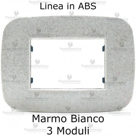 Placchetta marmo compatibile bticino Axolute