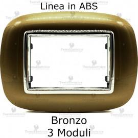 placca compatibile axolute bronzo