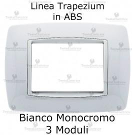 Placchetta Bianca cornicetta bianca compatibile bticino living light