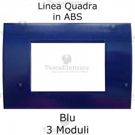 Placchetta Blu compatibile con serie Bticino LivingLight