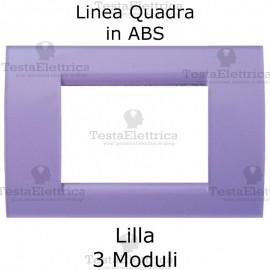 Placchetta Lilla compatibile con serie Bticino LivingLight