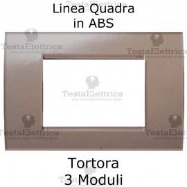 Placchetta Tortora compatibile con serie Bticino LivingLight