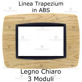 Placchetta Legno Chiaro compatibile e adattabile Bticino Living Light