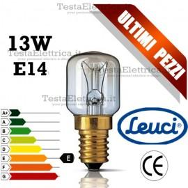 Lampada a incandescenza piccola pera 3C 13W E14 Leuci