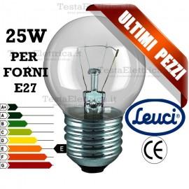 Lampada  per Forni a incandescenza sfera 40W E27 Leuci
