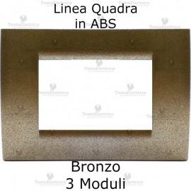 Placchetta bronzp compatibile con serie Bticino Matix