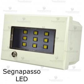 Lampada segnapasso LED compatibile con serie Bticino Axolute