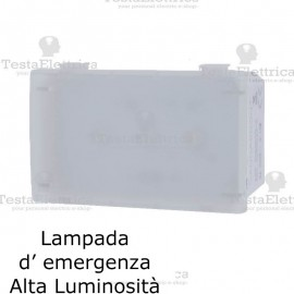 Lampada emergenza HI-POWER LED compatibile con serie Bticino Living Light