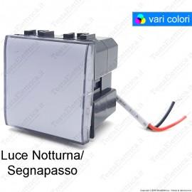 Luce notturna/ segnapassi compatibile con serie Bticino Matix