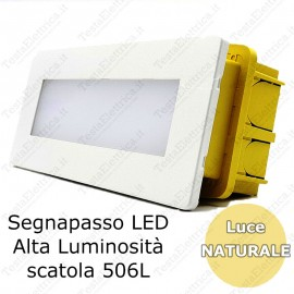 Segnapassi LED per scatole 506L