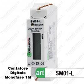 Contatore Monofase consumi elettrici Sandasdon