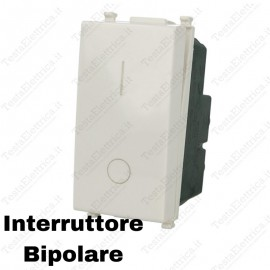 Interruttore 2p compatibile Vimar Plana