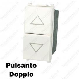 Doppio Pulsante compatibile con serie Vimar Plana