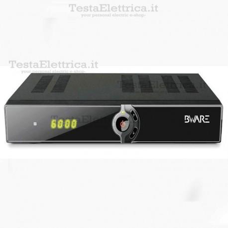 Decoder Satellitare e Digitale terrestre FULL HD Ethernet Linux COMBO BWARE
