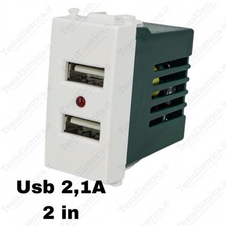 Presa USB compatibile vimar plana sandasdon