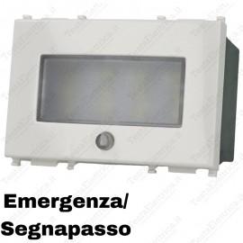 Lampada di emergenza compatibile Vimar Plana