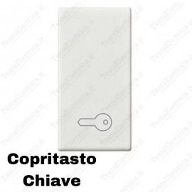 Copritasto simbolo chiave compatibile con serie Vimar Plana