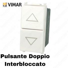Doppio Pulsante interbloccato Vimar Plana