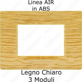bticino axolute air compatibile placca legno chiaro