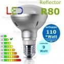 Lampada a led reflector R80 E27 9 W Digilamp