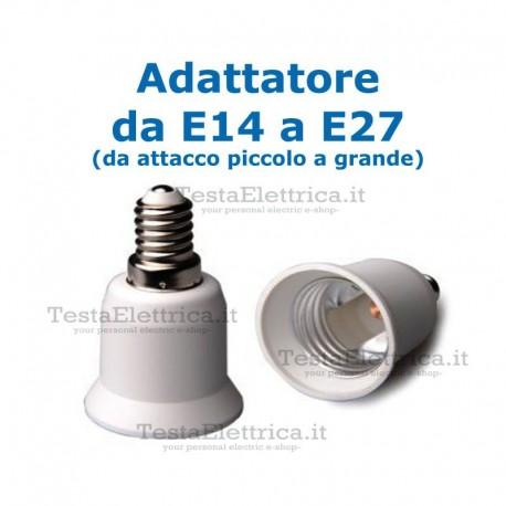 Adattatore da E14 a E27