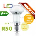Lampada a led reflector R50 E14 6 W Wiva