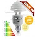 Lampada al Neon 40 Watt E27 2700k Spirale geo hi-power twist Wiva
