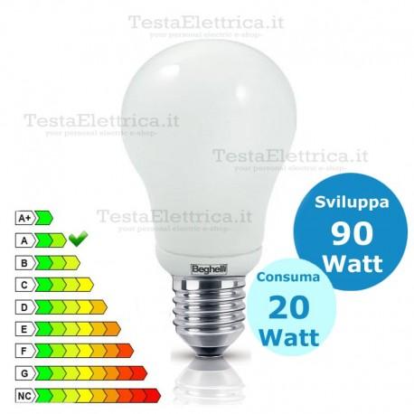 Lampada al Neon Mini Globo  E27 20 Watt  Beghelli