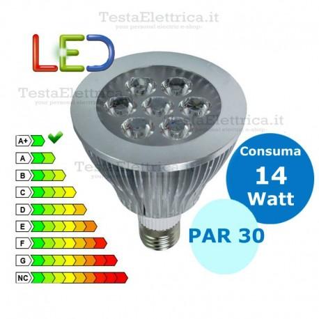 Par30 led 14w 110v 260v 60hz for Lampade a led 220v