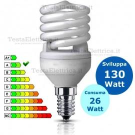 Lampada al Neon Spirale E14 26 Watt Dgk
