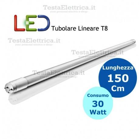 Tubo a led 150 cm T8 G13 30 watt Dgk