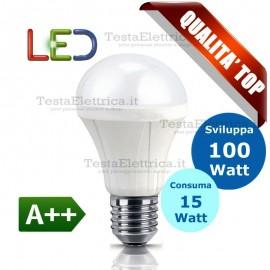 Lampadina a led  goccia 15 Watt E27 Gbc