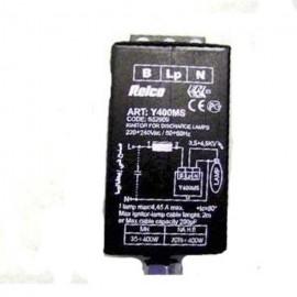Accenditore elettronico per fari a lampade sodio alta pressione  e ioduri metallici Relco