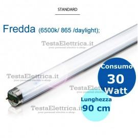 Tubo a neon 90 cm 30 watt cm T8 Standard Leuci