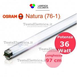 Tubo a neon 100 cm L36W/76-1 cm T8 Natura