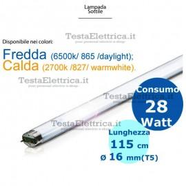 Neon T5 115 cm 28 watt Philips
