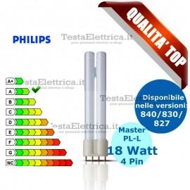 Lampada al Neon PL-L 18W 4P Master Philips
