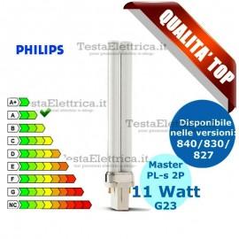 Lampada al Neon PL-s 11W 2P Master Philips